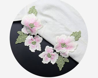 Embroidery Flower Appliques, Clothing Patches