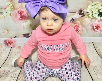 Purple Dottie Headwrap- Purple Headband; Purple Headwrap; Polka Dot Headband; Polka Dot Headwrap; Baby Headband; Toddler Headband; Baby Bows
