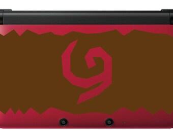 Deku Shield skin for Red 3ds xl