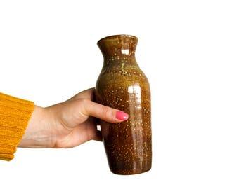 Vintage Small brown vase