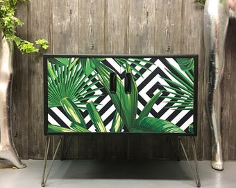 Gplan geometric palms hairpin legs