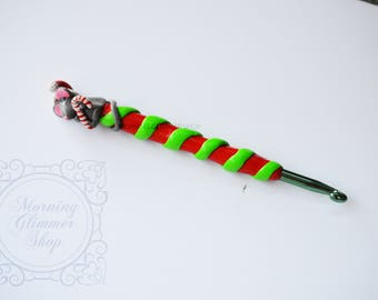 Christmas Mouse Ergonomic Crochet Hook
