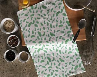 Mother's Day Gift | Teacher Gift | Hostess Gift | Father's Day Gift | Foodie Gift | Food & Kitchen | Pickles Pattern Tea Towel