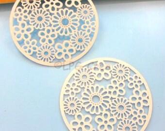2 prints white 47mm #S67