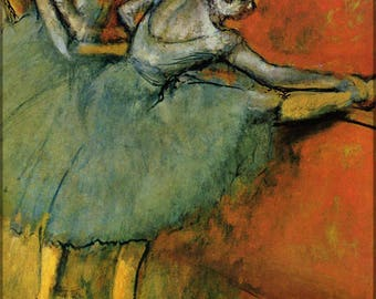 Poster, Many Sizes Available; Dancers At The Bar, 1888, The Phillips  By Edgar Degas