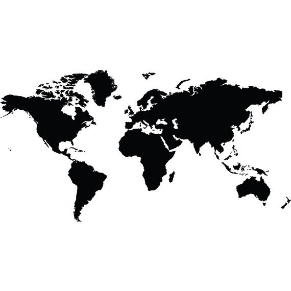 World map svg clipart silhouette world map vector digital ampliar gumiabroncs Choice Image