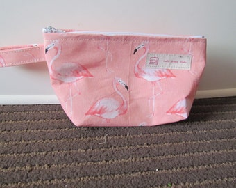 Flamingo wedge bag