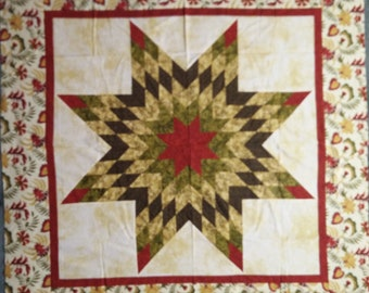 Radiant Star Quilt Top