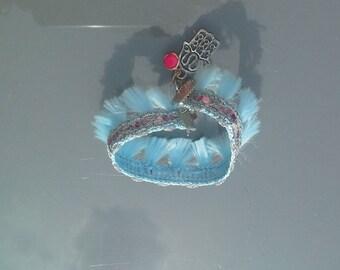 Bracelet blue/pink