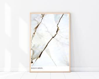 White Marble Photography PRINT, New Age Art Print, Boho, Crystals, Mineral Art Print, Boho Wall Art, Boho Art, Ethnic Decor