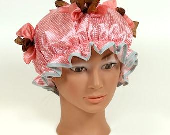 Amelia Designer Shower Cap