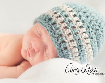 Baby Boy Hat / Crochet Boys Hat / Newborn Boy Hat / Baby Shower Gift Boy / Crochet Baby Hat / Boys Winter Hat / Boys Beanie / Boys Hat