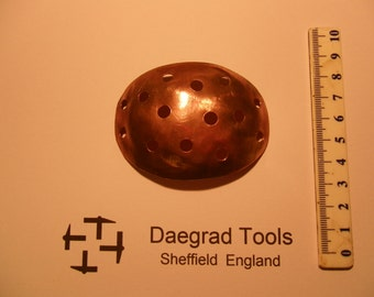 medieval surgeons copper knee patch 13 to 15thc reenactment use