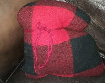 Wool Bunny Pillow
