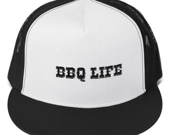 BBQ Life Barbecue Competition Grilling Trucker Cap