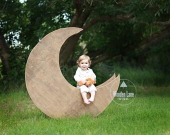 Moon Digital Background/Moon Digital Backdrop/Moon Prop/Newborn Moon Prop/Outdoor Moon