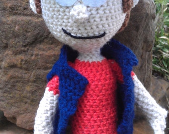Dipper Pines Inspired Doll from Gravity Falls