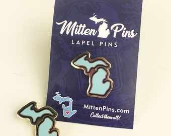 Mitten Pins - Michigan Lapel Pin