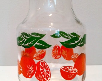 Orange Juice Carafe - Vintage