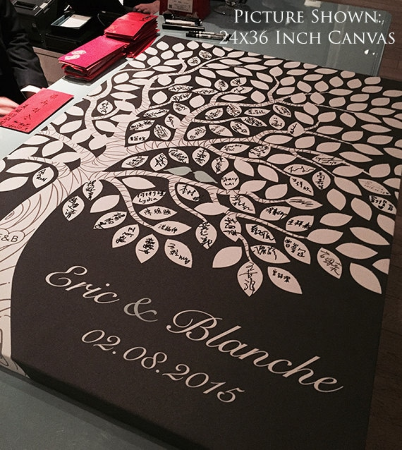 Well-known Alternative Guest Book Tree Wedding Guest Book Ideas YP02