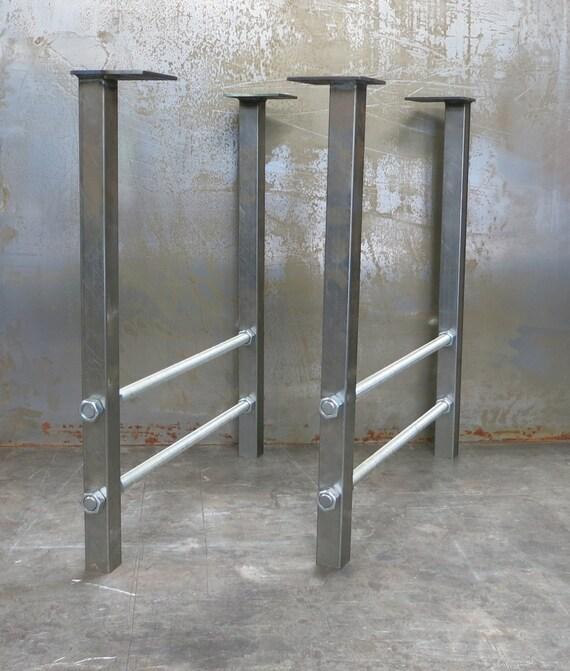 Metal Table Legs- Double Threaded Rod