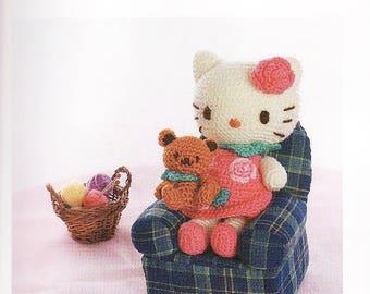 Free Amigurumi Patterns Hello Kitty : Hello kitty crochet etsy