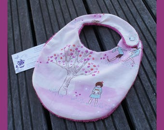 """in nature"" baby bib"