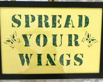 Spread Your Wings wall decor