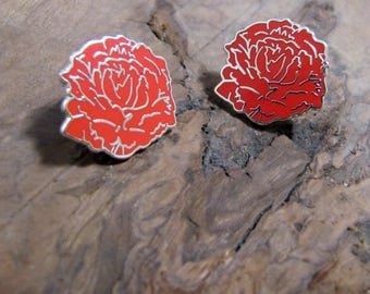 Red Carnation Pin (KKΨ only)
