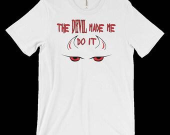 Devil T-Shirt - Gothic Clothing - Satanic Clothing