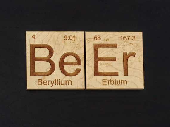 Beer Coasters. Great gift for the home brewer, beer lover, dad, brother or boyfriend. Beautiful addition to the home bar.