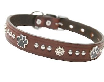 "graber 1"" large breed dog collar (bullhide)"