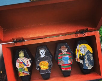 Heroes of Horror Pin Box