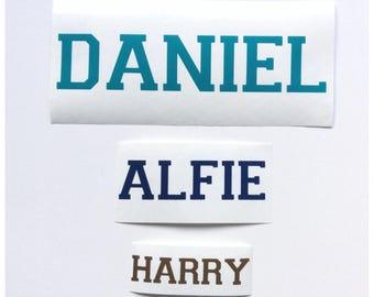 Personalised Vinyl Name Sticker