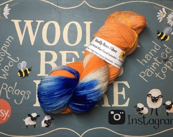 150g Hand Painted Bluefaced Leicester