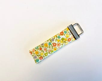Chapstick Lip Balm Cozy Keychain-Yellow Flowers