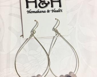 HANDMADE sterling silver filled earrings