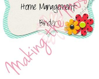2015 Home Management Binder