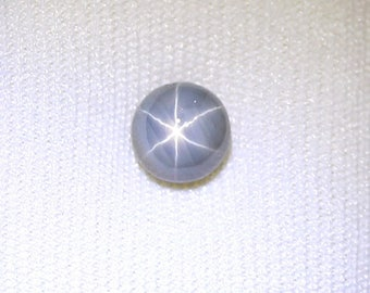 SAPPHIRE 1.55CTS GREY STAR ****Free Shippng****