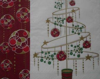 026 Christmas napkin