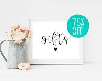 Gift Sign, Gifts Sign, Gift Sign Wedding, Gift Sign Printable, Wedding Gift, Wedding Gift Sign, Wedding Dress, Wedding Garter, Wedding Cake