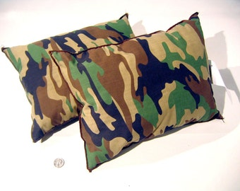 Military Army Surplus Camouflage Pillows