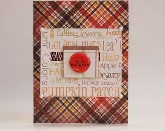 The Apple Orchard - Fall/Thanksgiving Card