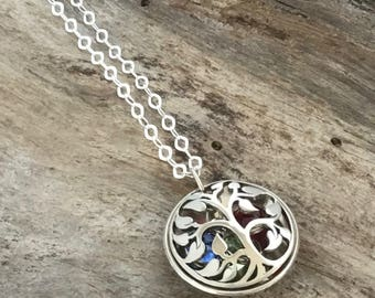 Birthstone necklace for Grandma | Grandma Jewelry | Grandma Gift | Birthstone Necklace | Grandma Necklace | Mom Necklace
