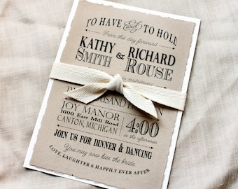 Wedding invitations etsy nz boho wedding invitation rustic modern casual wedding invitations rustic invitation sets wedding stopboris Gallery