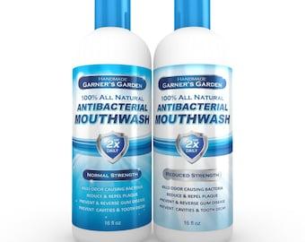 Natural Mouthwash 16 oz | Fluoride Free