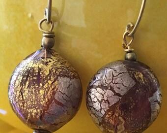 Venetian Glass Pierced Earrings