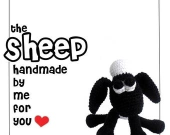 The Sheep - handmade by me for you