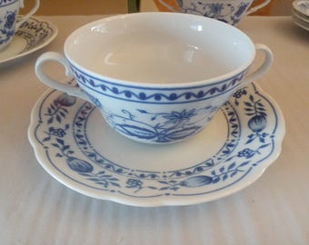 Soup cup with lower onion pattern Kahla