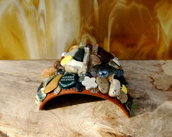 Toad House, Frog Abode, Garden Decor,Toad Home